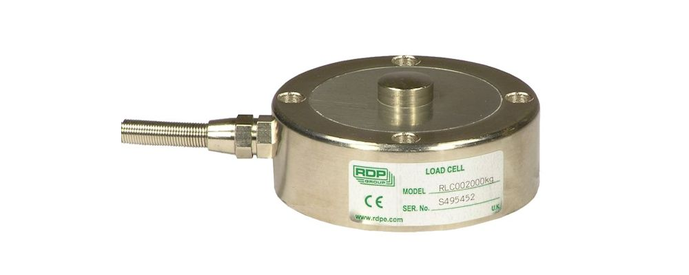dimensional drawing of  Model  RLC Compression Load Cell